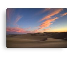 Sunset Over Oceano Dunes Canvas Print