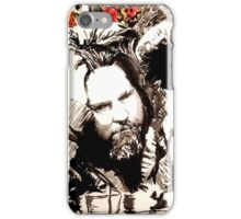 The Dude and his rug iPhone Case/Skin
