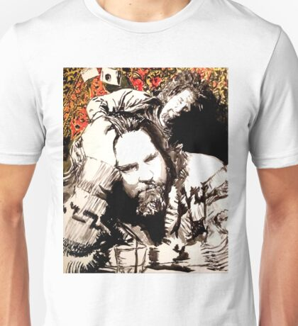 The Dude and his rug Unisex T-Shirt