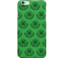 School For Gifted Youngsters - Green iPhone Case/Skin