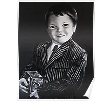 Sam's Black & White & Brownie Poster