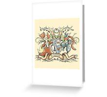 Kalos Coat of Arms Greeting Card
