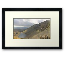 Dow Crag and Goats Water Cumbria Framed Print