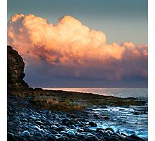 Clouds Reflect the Sun Photographic Print