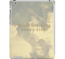 I wish for you  iPad Case/Skin