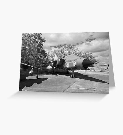 Panavia Tornado aircraft Greeting Card
