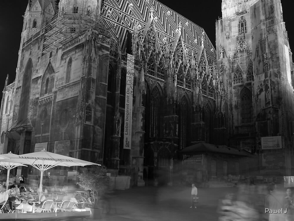 Vienna at Night by Pawel J