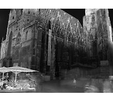 Vienna at Night Photographic Print