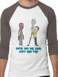 Rick and Morty – Don't Even Trip Men's Baseball ¾ T-Shirt