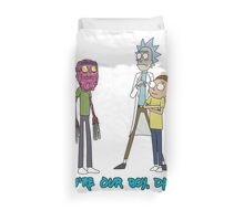 Rick and Morty – Don't Even Trip Duvet Cover