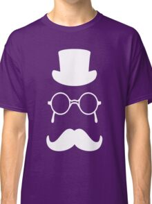 Top hat, glasses and moustace Classic T-Shirt