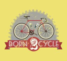Born To Cycle Kids Tee