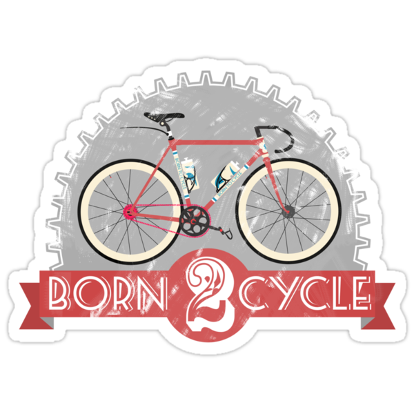 Born To Cycle by Andy Scullion