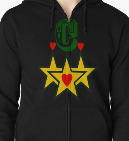 ۞»★Initial C Fantabulous Clothing & Stickers★«۞ Zipped Hoodie