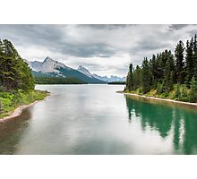 Maligne Lake Photographic Print