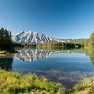 Mount Rundle from Cascade Ponds by peterwey
