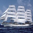""""""" Tall Ship En-Route """" by terryfellows"""