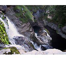 River mountain_2 Photographic Print