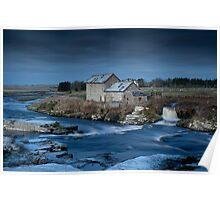 Westerdale Mill, Caithness, Scottish Highlands Poster