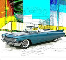 1960 Cadillac Convertible by 454autoart