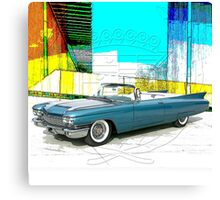 1960 Cadillac Convertible Canvas Print