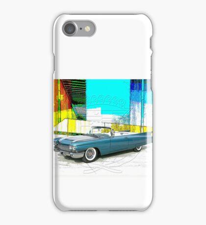 1960 Cadillac Convertible iPhone Case/Skin