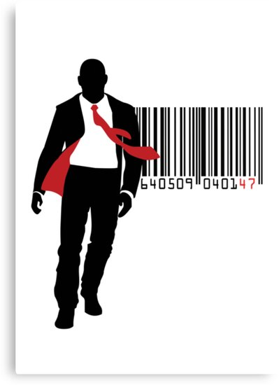 Agent 47 Barcode by Ven85