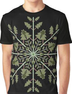 Snow Tree Graphic T-Shirt