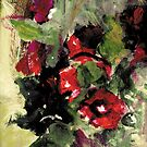 Floral Oil Painting by PMJCards