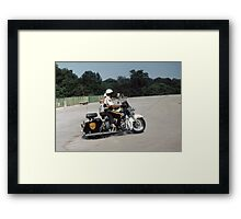 """ All American "" Framed Print"