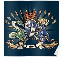 Unova Coat of Arms Poster