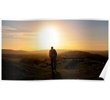 Dolebury Warren Sunset Poster