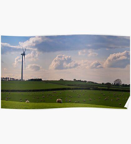 Turbine Energy Poster