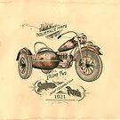 1921 Sidecar by Diego Verhagen