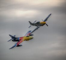 Ferocious Frankie and Miss Demeanour  by Nigel Bangert