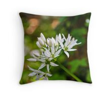 Woodland Bloom Throw Pillow