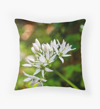 Woodland Bloom Throw Pillow