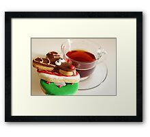 My Christmas Tea Framed Print