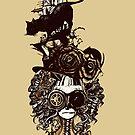Steam Lady by Diego Verhagen
