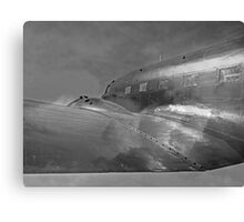 Douglas DC-3 Dakota. Heading home Canvas Print