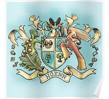 Hoenn Coat of Arms Poster