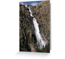waterfall_2 Greeting Card