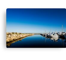 Challenger Harbour of Fremantle Canvas Print
