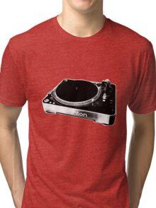 Record Player Tri-blend T-Shirt