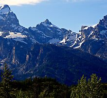 Grand Teton Afternoon by Michael Kirsh