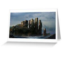 Sea Castle Greeting Card