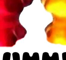 Gummy style Sticker