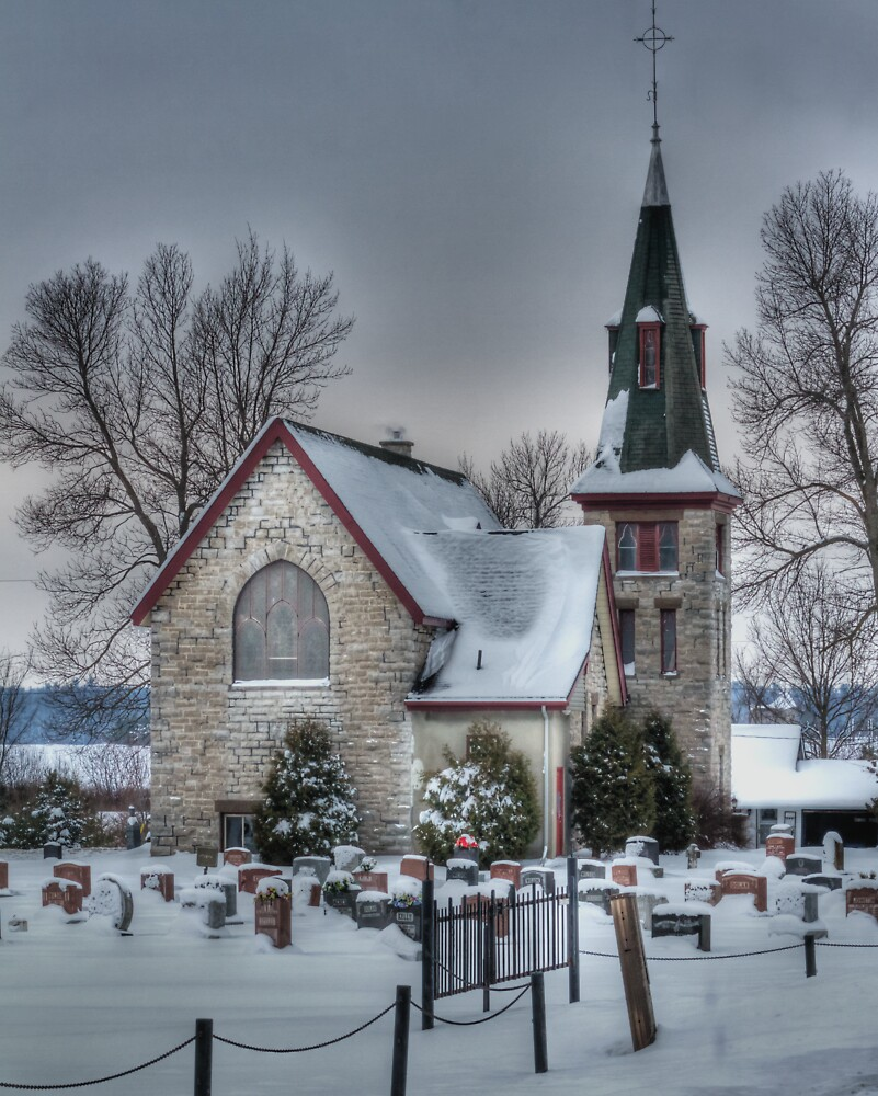 Church - HDR - Near Fitzroy Harbour by Josef Pittner