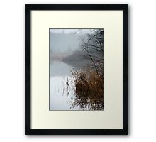 Early Morning on the Pond Framed Print
