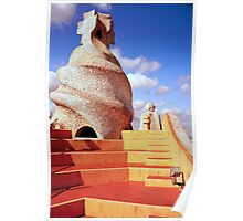 Roof of LA PADRERA Poster